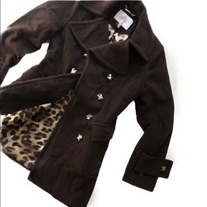 Laundry by Shelli Segal double breasted peacoat